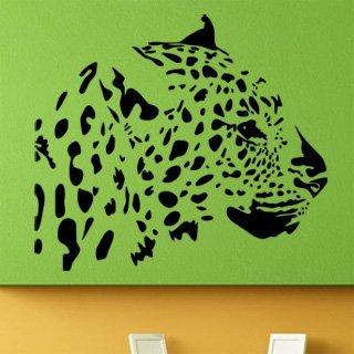 Nálepka na zeď Leopard 005 - 120x105 cm