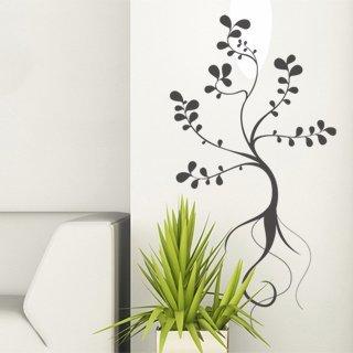 Samolepka na zeď Rostlina 014 - 60x115 cm