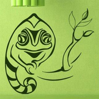 Samolepící dekorace Chameleon 004 - 104x100 cm
