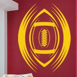 Nálepka na zeď Americký fotbal 005 - 100x134 cm