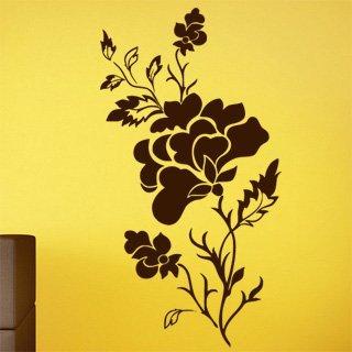 Samolepka na zeď Růže 010 - 60x113 cm
