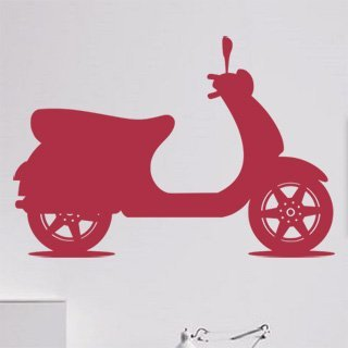 Samolepící dekorace Motorka 023 - 120x83 cm