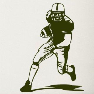 Samolepka na zeď Americký fotbalista 002 - 60x84 cm