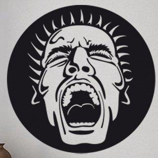 Samolepící dekorace Křik 001 - 120x120 cm