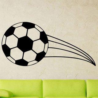 Nálepka na zeď Fotbalový míč 0573 - 100x216 cm