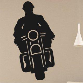 Samolepící dekorace Motorka 018 - 80x152 cm
