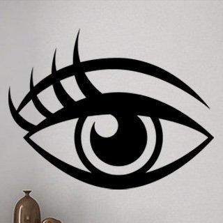 Samolepící dekorace Oko 002 - 120x93 cm