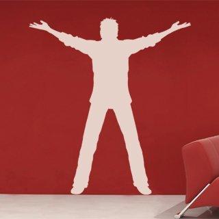 Samolepka na stěnu Silueta 002 - 120x132 cm