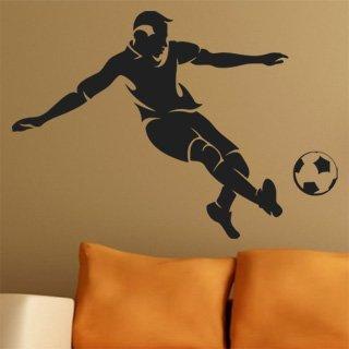 Samolepící dekorace Fotbalista 008 - 120x84 cm