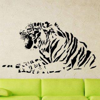 Nálepka na zeď Tygr 012 - 215x120 cm