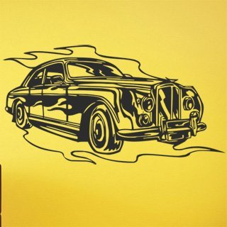 Samolepka Auto 040 - 150x80 cm