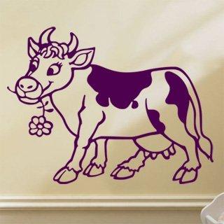 Samolepící dekorace Kráva 005 - 120x92 cm