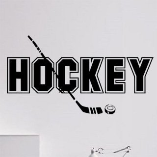 Samolepka Hokej 001 - 120x65 cm