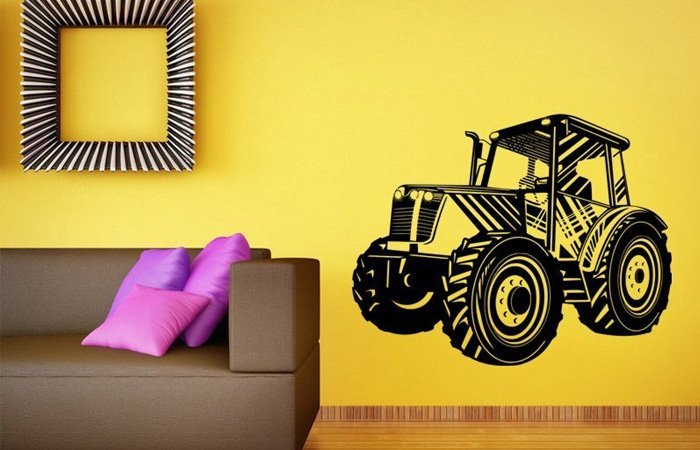 Se samolepícím traktorem překonáte sebevětší nesnáze