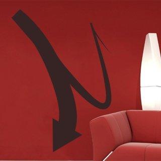 Samolepící dekorace Šipka 027 - 85x120 cm