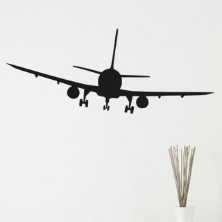 Nálepka na zeď Letadlo 008 - 245x100 cm
