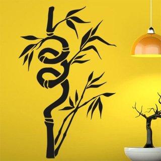 Samolepka na zeď Bambus 007 - 60x93 cm