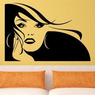 Nálepka na zeď Žena 038 - 178x120 cm