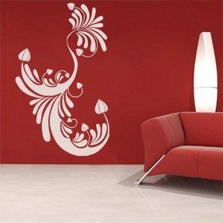 Nálepka na zeď Ornamenty z rostlin 003 - 100x163 cm