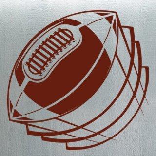 Samolepka Americký fotbal 004 - 80x80 cm