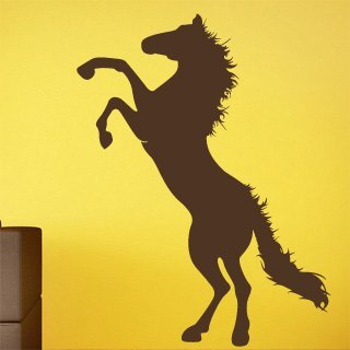 Samolepka na stěnu Kůň 005 - 120x157 cm