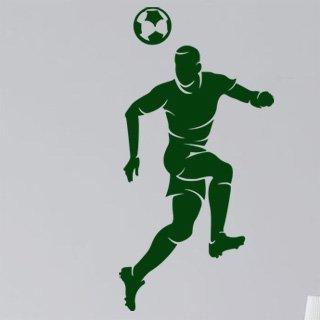 Samolepka na zeď Fotbalista 015 - 61x120 cm