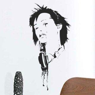 Samolepka na zeď DJ 006 - 59x120 cm