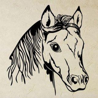 Samolepící dekorace Kůň 0325 - 100x111 cm