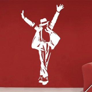 Samolepící dekorace Michael Jackson 003 - 80x151 cm