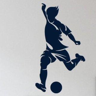 Samolepka na zeď Fotbalista 018 - 60x110 cm