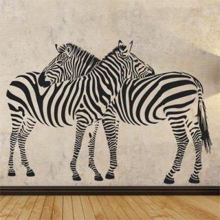 Samolepící dekorace Zebra 002 - 172x120 cm