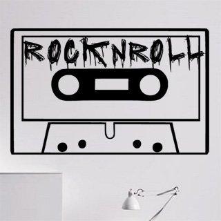 Samolepka na zeď Rock And Roll 002 - 95x60 cm