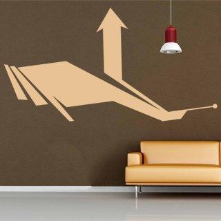 Samolepka na stěnu Šipka 015 - 120x226 cm