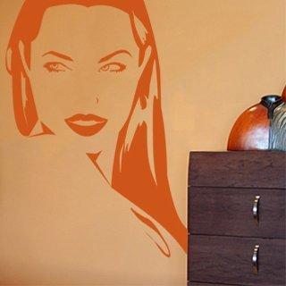 Nálepka na zeď Dívka 002 - 120x171 cm