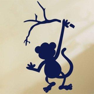 Nálepka na zeď Opička 001 - 100x179 cm