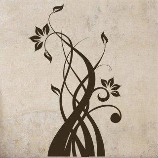 Samolepící dekorace Rostlina 011 - 80x130 cm