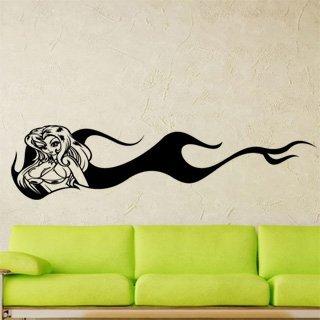 Samolepka na zeď Dívka 007 - 246x60 cm