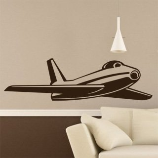 Samolepka Letadlo 011 - 212x60 cm