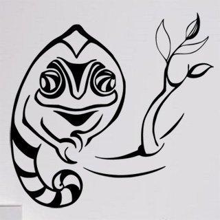 Samolepka na zeď Chameleon 004 - 63x60 cm