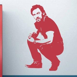 Samolepka na zeď Bruce Springsteen 001 - 60x103 cm