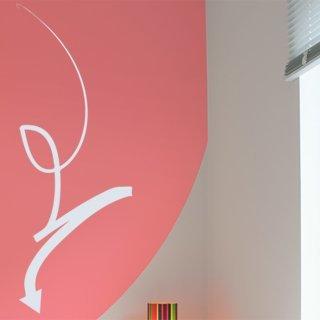 Nálepka na zeď Šipka 020 - 100x268 cm
