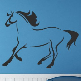 Samolepka na stěnu Kůň 025 - 159x120 cm