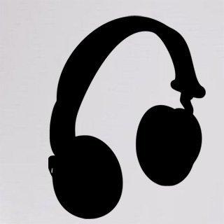 Samolepka Sluchátka 002 - 80x104 cm