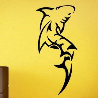 Nálepka na zeď Žralok 009 - 100x216 cm