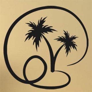 Samolepící dekorace Palmy 008 - 102x100 cm