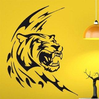 Samolepka na zeď Tygr 001 - 60x76 cm
