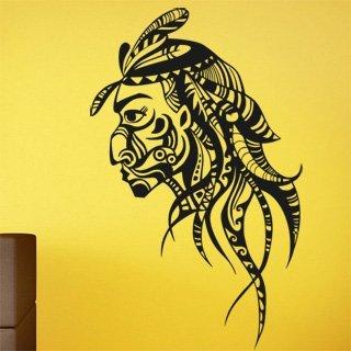 Samolepka Indián 0209 - 75x120 cm