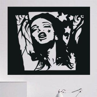 Samolepka Portrét 001 - 122x100 cm