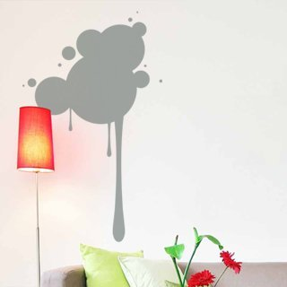 Samolepící dekorace Kruhy 005 - 80x132 cm