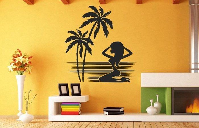 Vyberte si nejkrásnější letní samolepky na stěnu